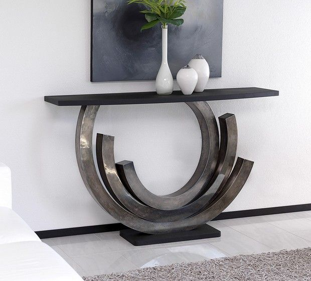 25 Modern Console Tables For Contemporary Interiors Hall Table Decor Unique Console Table Modern Console Tables