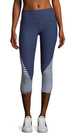 8c9c32bc32 I love these super cute leggings! Xersion Performance Colorblock Capris    activewear   leggings   running pants   yoga pants   workout pants    workout ...