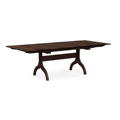 Copeland Furniture Sarah Extendable Dining Table Color Smoke Cherry Size 30 H X 60 W X 38 D Dining Table Extendable Dining Table Solid Wood Dining Table