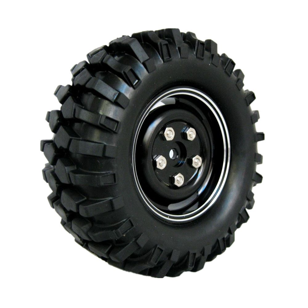 4x 96mm 1 9 Alloy Tires Wheels Rims 12mm Hex Hub For 1 10 Scale Exceed Rc Maxstone 4wd Remote Control Rock Crawler Wheel Rims Rims For Cars Aluminum Wheels