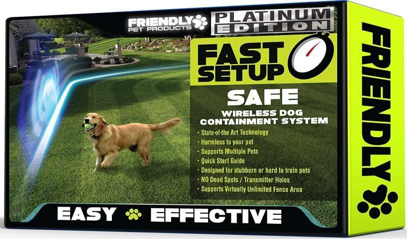 Wireless Fence Reviews Platinum Edition Presidentpet Pet Products Review Wireless Dog Fence Pet Fence Dog Fence