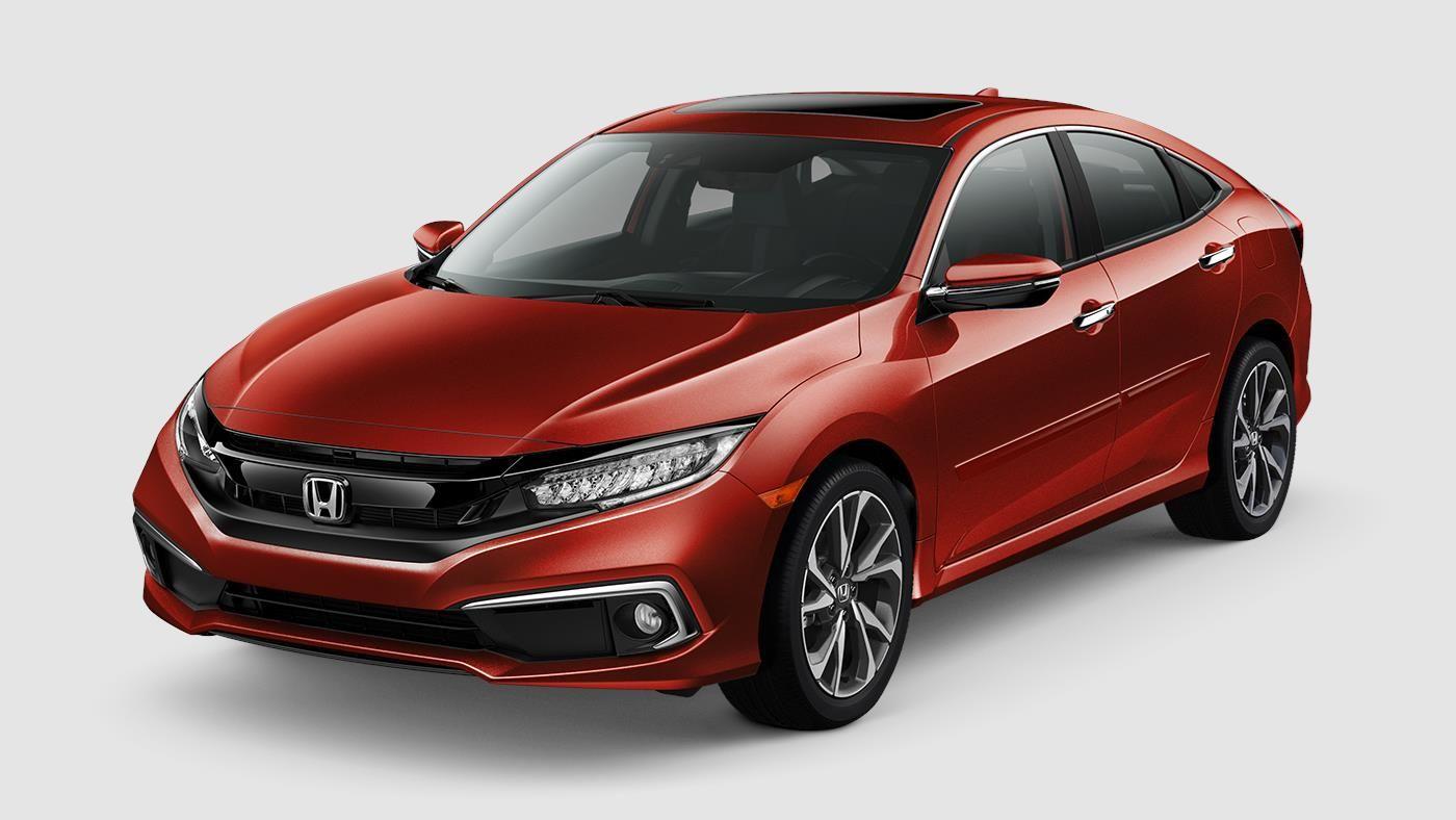 2019 Civic Sedan Restyled Sporty Design Honda Civic
