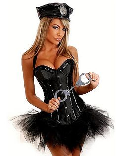 Adult Sexy Cop Costume | Cheap Police/Firefighter Halloween Costume for Sexy  sc 1 st  Pinterest : cheap police costumes  - Germanpascual.Com