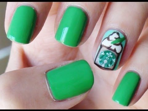 1000 ideas about starbucks nails on pinterest  nails
