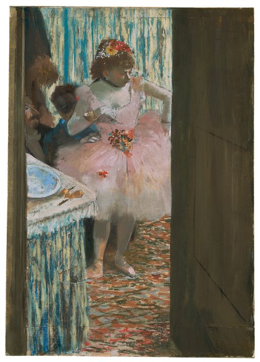 Edgar Degas, Dancer in the Dressing Room c. 1878–79