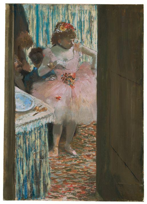 Edgar Degas, Dancer in the Dressing Room c. 1878–79
