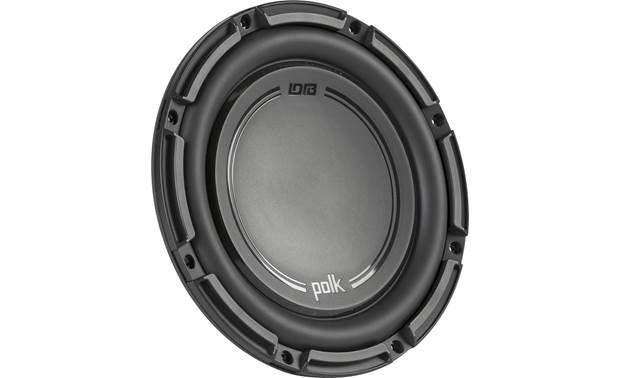 Polk Audio Db 1042 Svc Db Series Shallow Mount 10 4 Ohm Subwoofer At Crutchfield Polk Audio Subwoofer Car Subwoofer