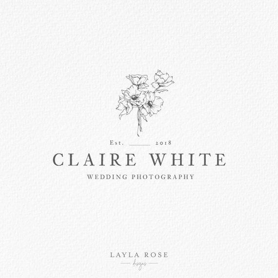 Wedding Photography Logo In 2020 Wedding Photography Logo Photography Logos Wedding Logo Design