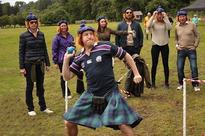 highland games edinburgh activity