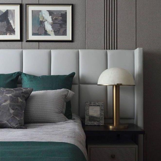Best 32 Choosing Good Geometric Wallpaper Bedroom Interior 400 x 300