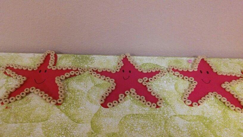 Starfish Craft With Cheerios Crafting