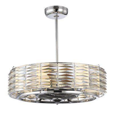 Willa arlo interiors borja 6 light air ionizing dlier ceiling fan