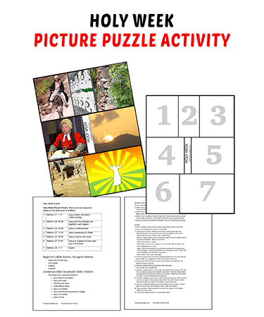 Photo of Printable Holy Week Jigsaw Puzzle Activity (Easter, Jesus, Lent)