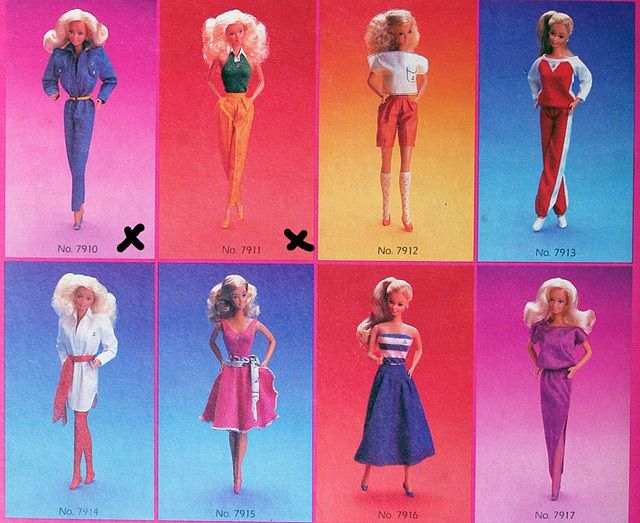 Barbie Fashion 80s Style. | Barbie -80\'s&90\'s | Pinterest | Barbie ...