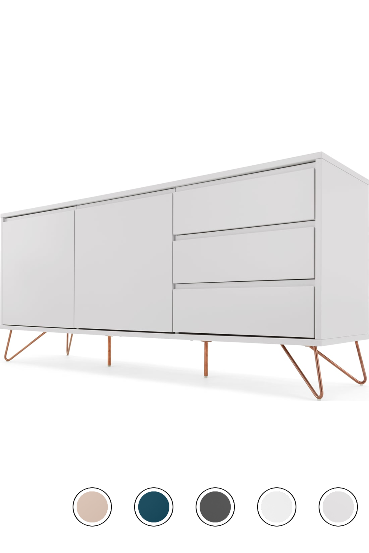 Made Grey Copper Sideboard Sideboard Door Handles Copper