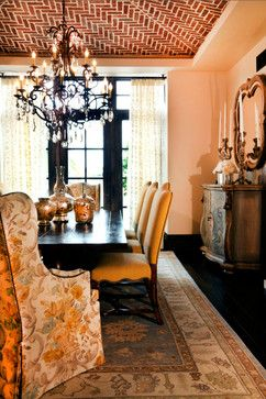 Rovy eclectic dining room