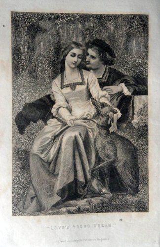 Love's Young Dream, Painting 1800's Engraved & Printed by... http://www.amazon.com/dp/B00ET2XFKM/ref=cm_sw_r_pi_dp_y2Etxb0CEBBG9