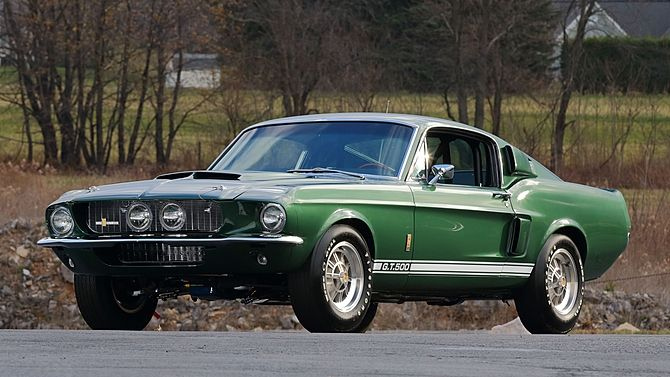 1967 Shelby Gt500 Fastback 428 355 Hp Automatic Mecum Auctions 1967 Shelby Gt500 Shelby Gt500 Muscle Cars Camaro