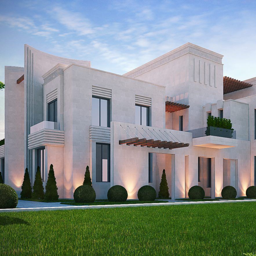 Art Deco Homes: House Design, Modern