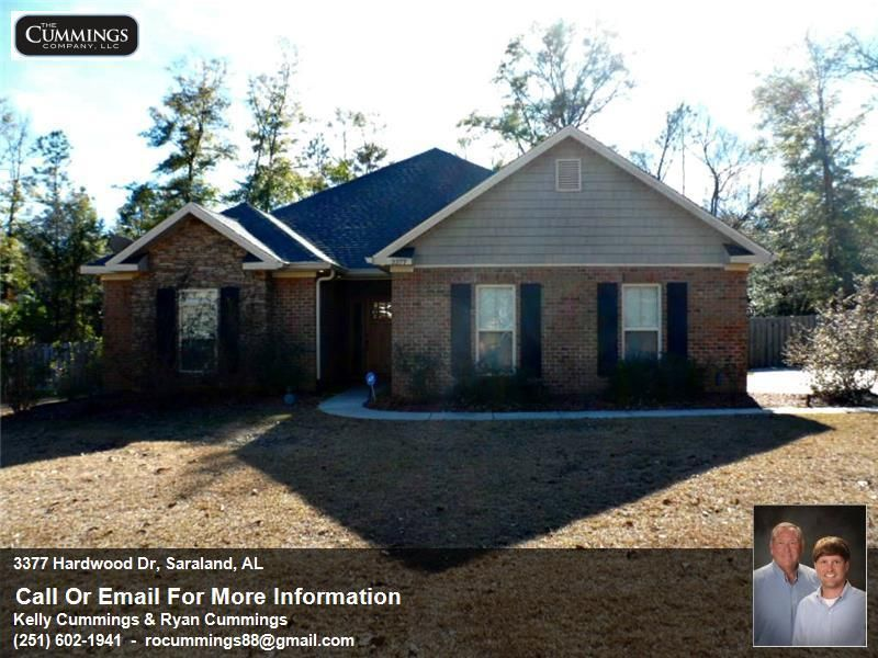 3377 Hardwood Dr, Saraland, AL 36571 | Custom Home For Sale in the Saraland School District