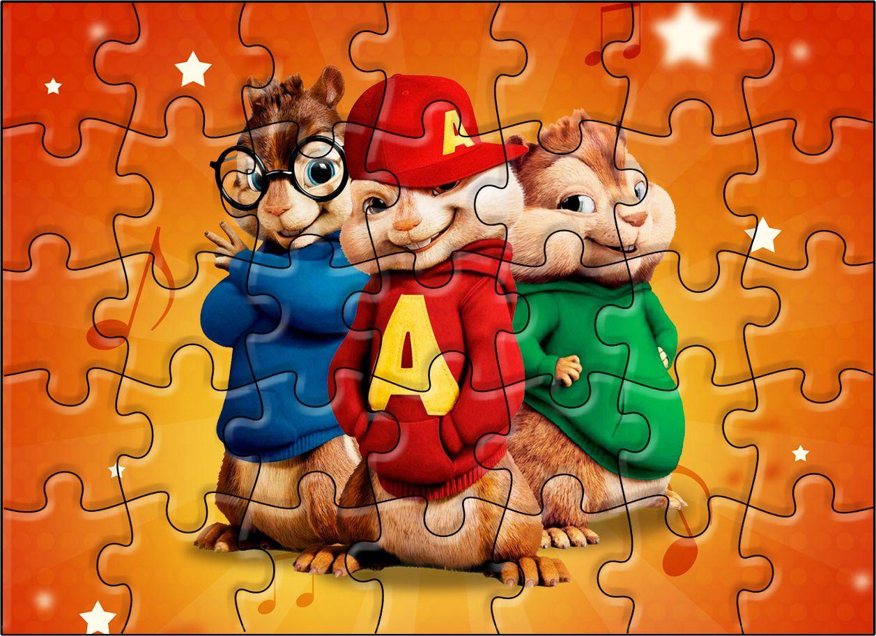 Quebra Cabeca Alvin E Os Esquilos Alvin E Os Esquilos Festa E