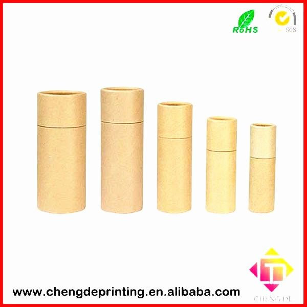Custom Push Up Eco Friendly Bamboo Pattern Printed Paper Lip Balm