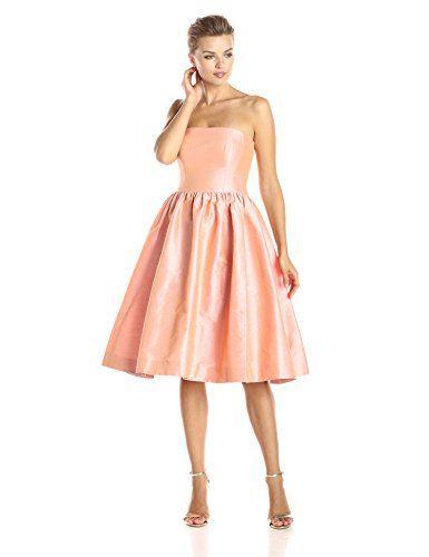 3c1fd8e4b9 Donna Morgan Women s Georgina Strapless Dior Fit and Flare Dress
