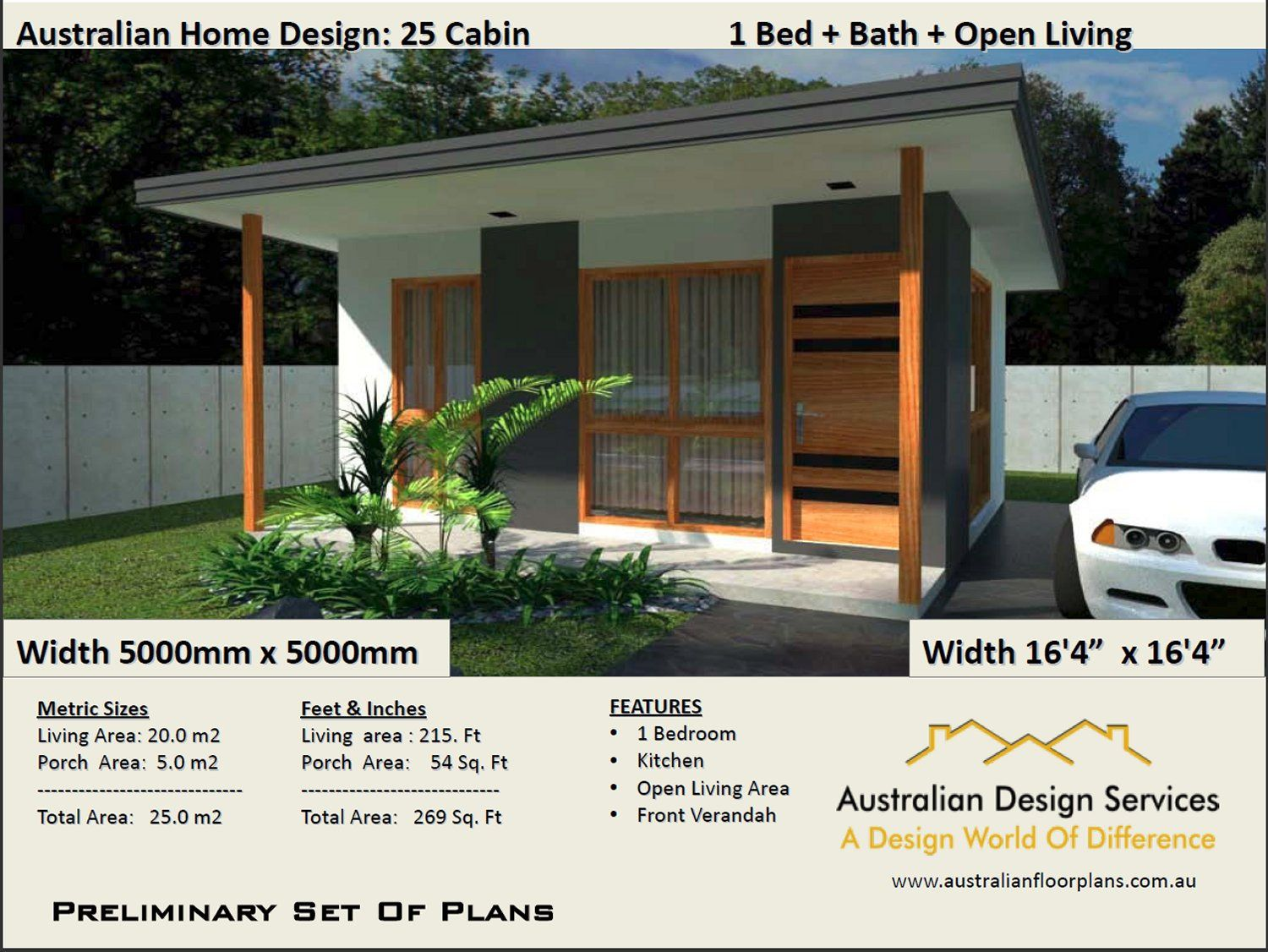 Small Cabin House Plan 25 Cabin 25 M2 269 Sq Foot 1 Etsy With Images Cabin House Plans Small House Design Small Cabin Plans