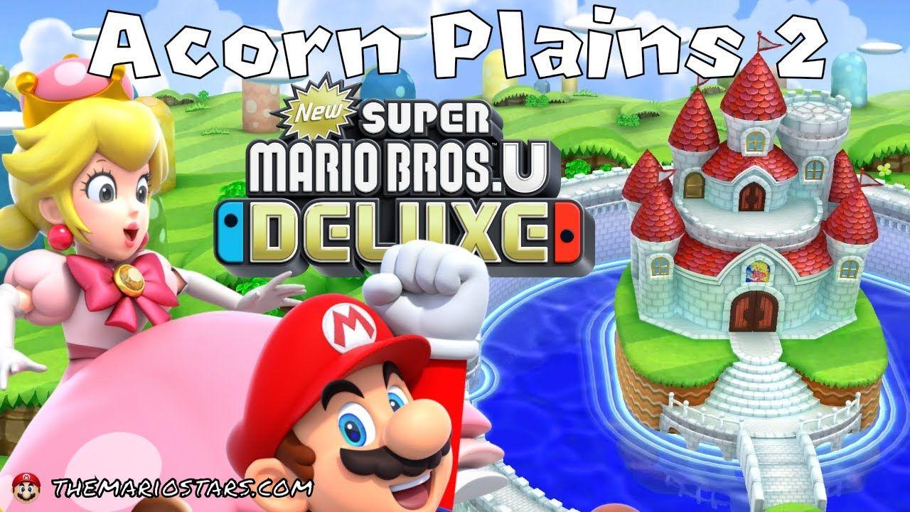 New Super Mario Bros U Deluxe Part 2 Gameplay Walkthrough