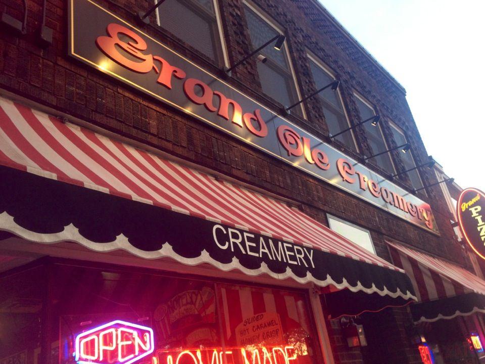 Grand ole creamery grand pizza creamery grands ole