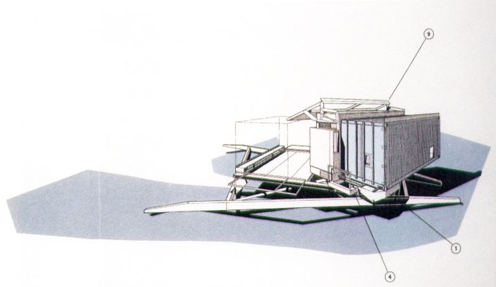 Hesslink guest house container house model 1994 jones for Guest house models