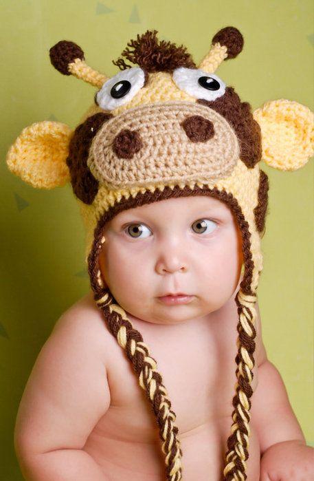 Giraff 457x700 70kb Hats детские шапки детские шапочки вязание