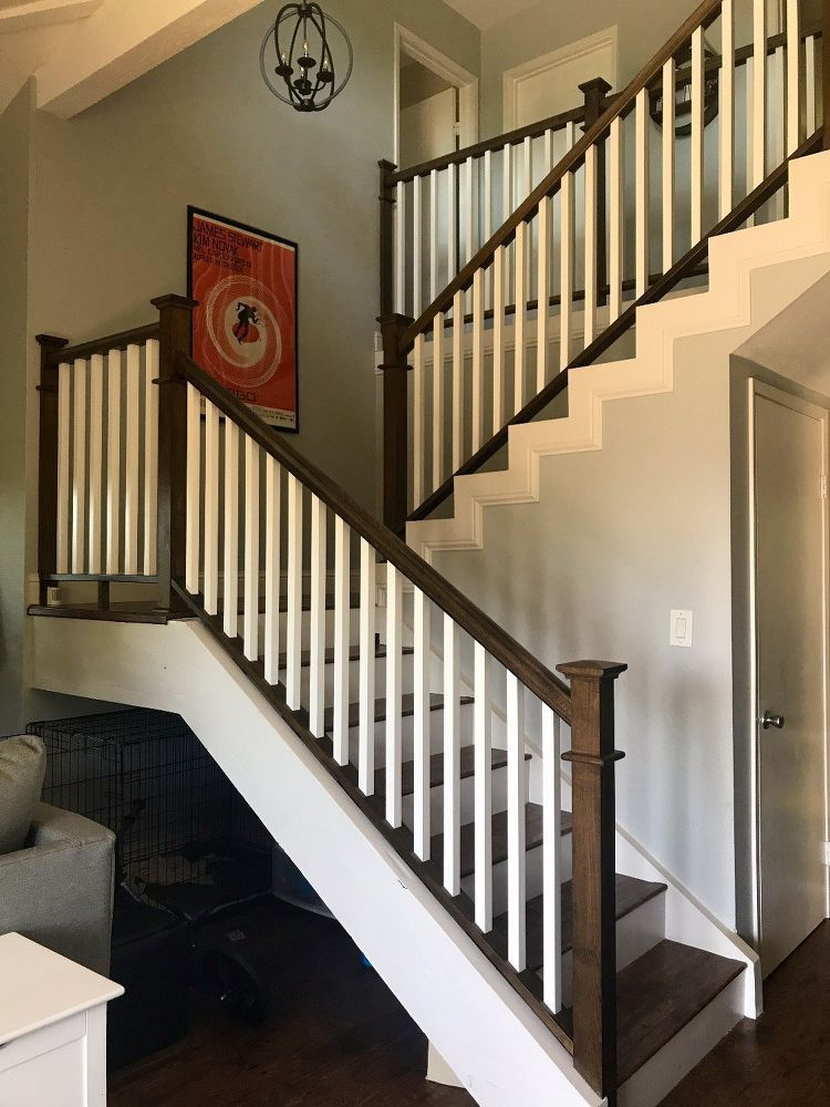 Looking For Staircase Design Inspiration Check Out Our Photo Gallery Of Modern Stair Railing Ideas S Stair Remodel Staircase Remodel Stair Railing Makeover