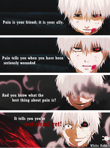 Anime Tokyo ghoul Tokyo ghoul quotes, Ghoul quotes