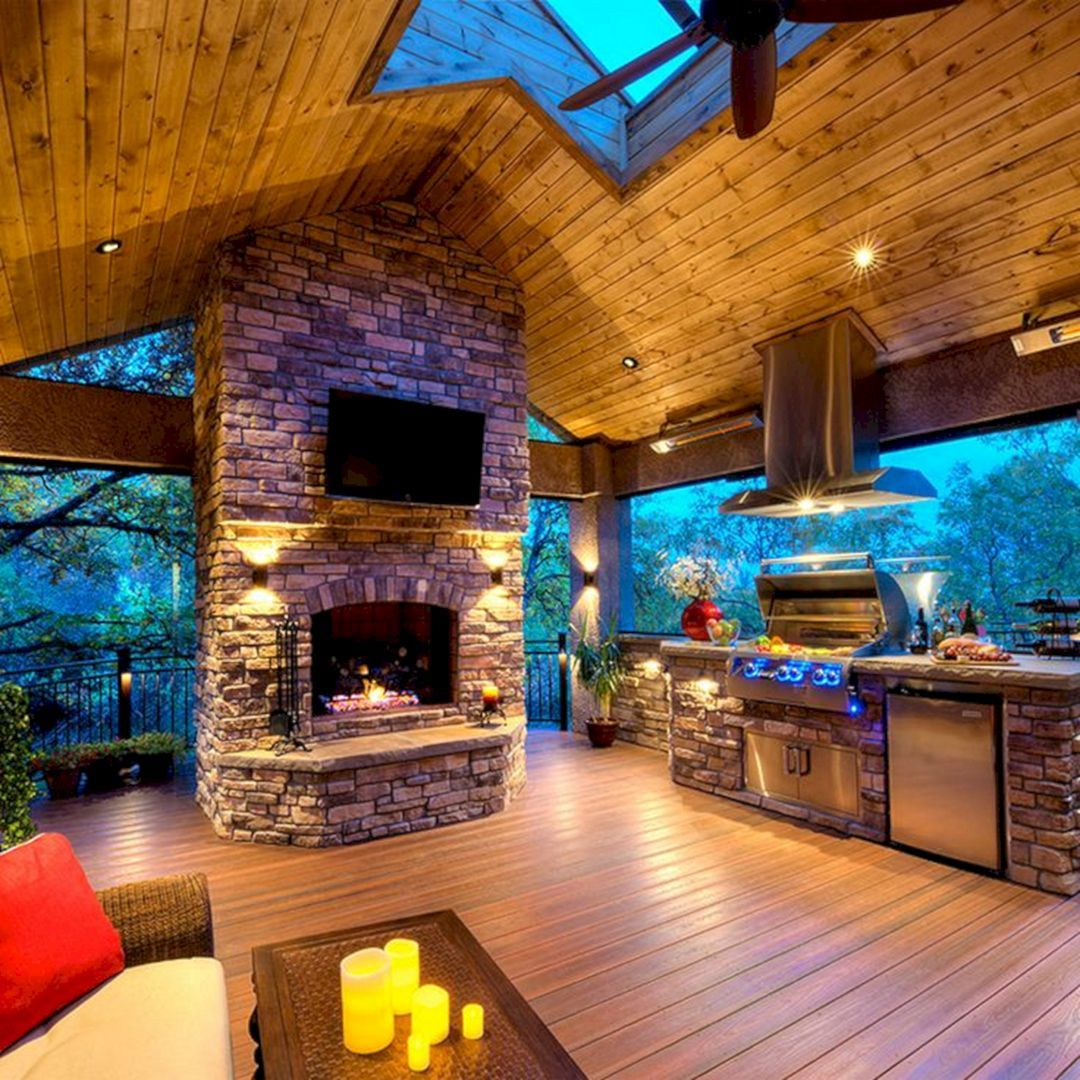 Incredible Kitchen Remodeling Ideas: 35+ Incredible Outdoor Deck Remodel Ideas For Awesome Home