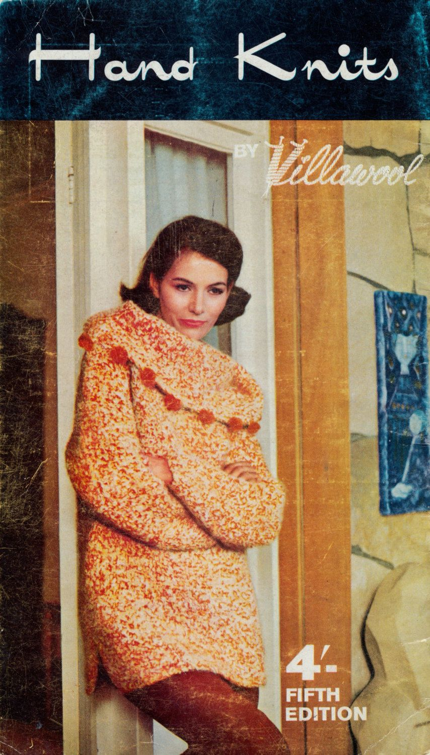4 vintage knitting patterns from the 1960s jacket 3 variations 4 vintage knitting patterns from the jacket 3 variations of sweaters by thebusytipsygipsy on etsy bankloansurffo Choice Image
