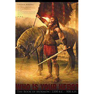 Amazon LDS Book Of Mormon Hero Poster 24x 36 Matte Finish Print