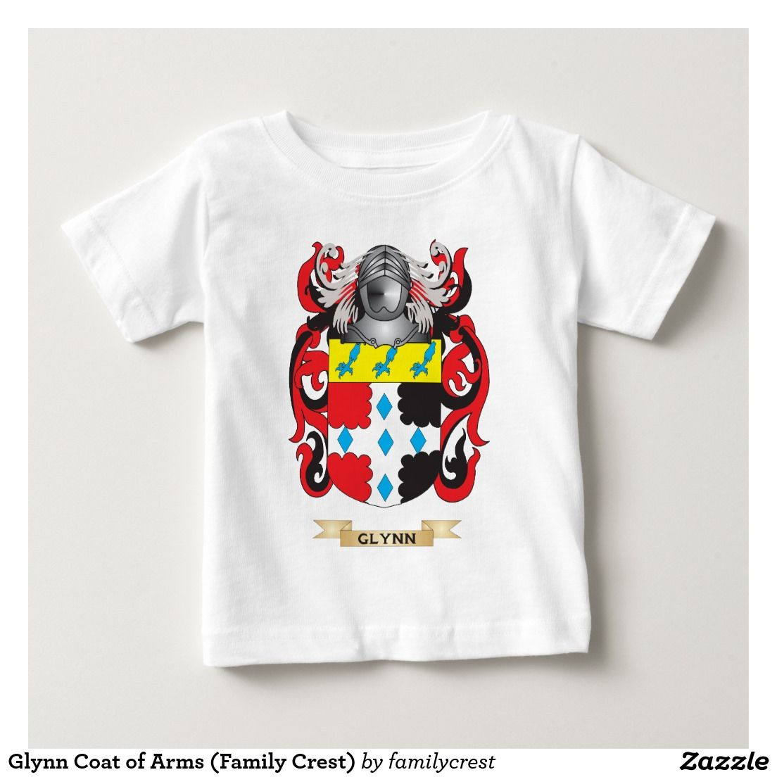 Glynn Coat of Arms (Family Crest) Tee Shirts
