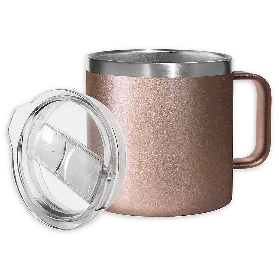 Oggi Stainless Steel Mug With Lid Bed Bath Beyond In 2021 Mugs Coffee