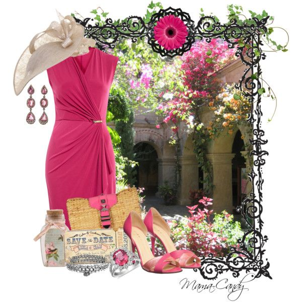"""Garden Wedding"" - by Mama-Candy on Polyvore"