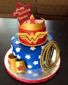 Amazing Birthday Cakes Images Wonder Woman Cake Birthdays Themed Happy Personalised Birthday Cards Paralily Jamesorg