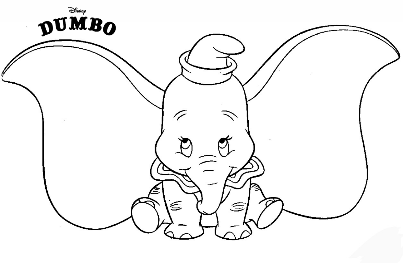 Dumbo Is Cute Coloring Pages Baby Elephant On Disney S Movie 2019 Dumbo Dumbo Cartoon Coloring Disney Coloring Pages Elephant Coloring Page Disney Colors