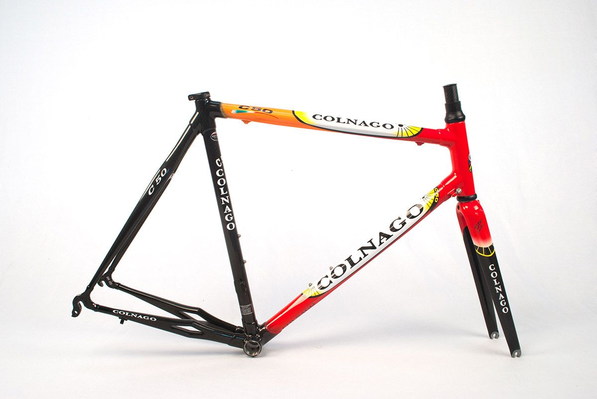 Colnago C50 58 cm Those Italianos don\'t follow the rules when it ...