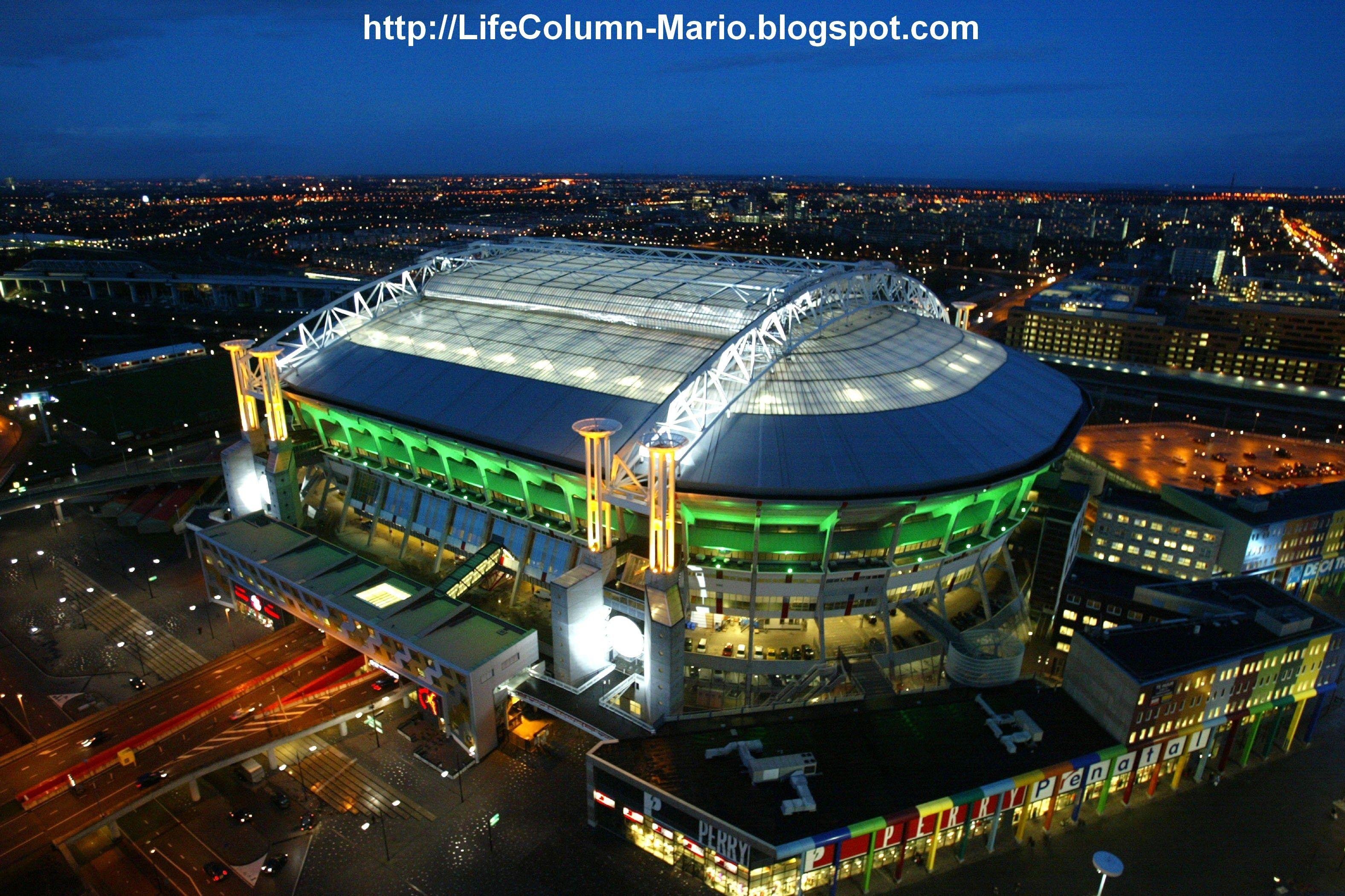 f9d912c67fd Amsterdam Arena Ajax Stadium, Ajax   Football stadiums   Football ...