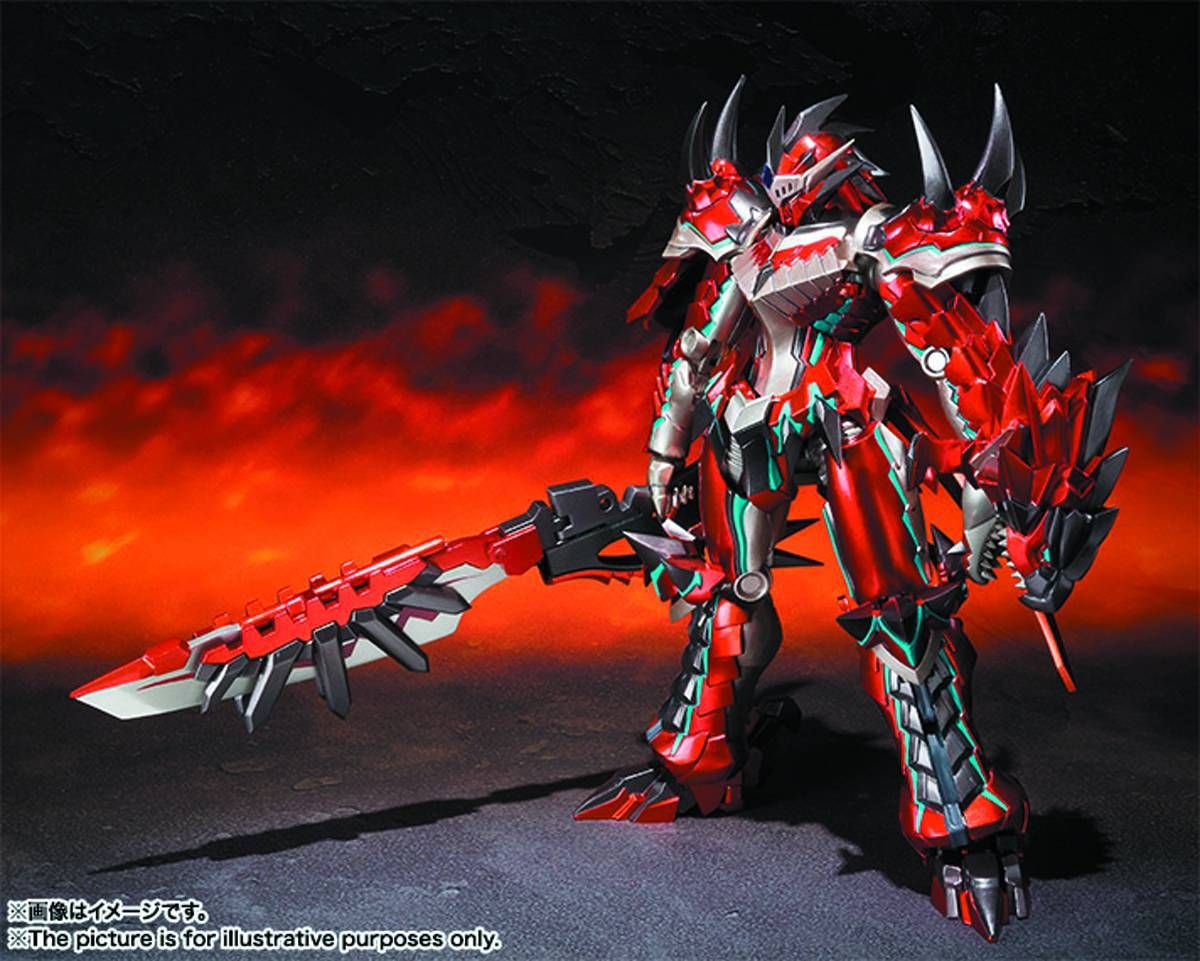Monster Hunter Chogokin Liolaeos figure Ban Dai 920454