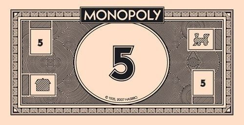 picture about Printable Monopoly Money identify Monopoly Cash No matter what Monopoly income, Video games, Printable