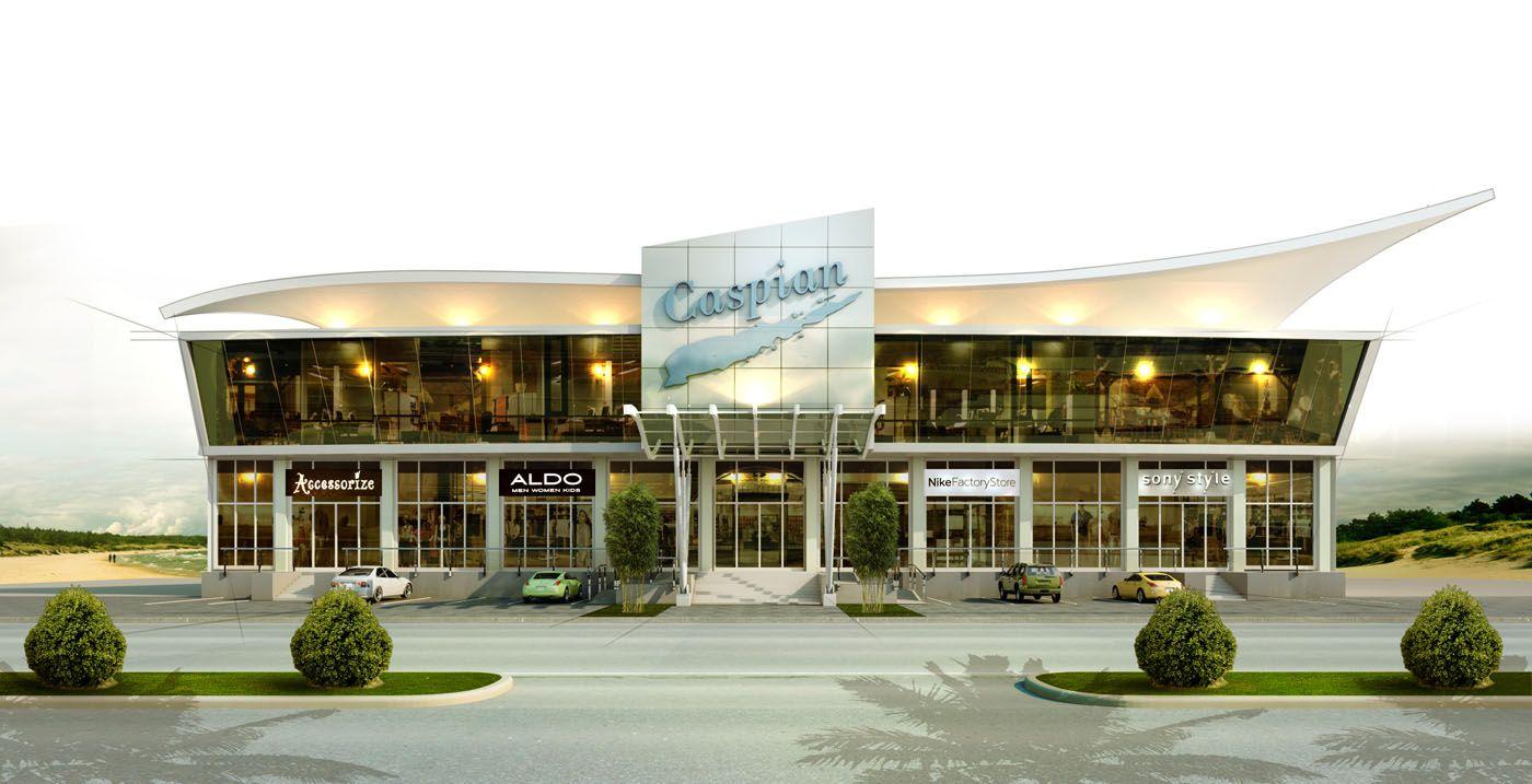 Restaurant Front Elevation Design : Modern shop elevation google da ara