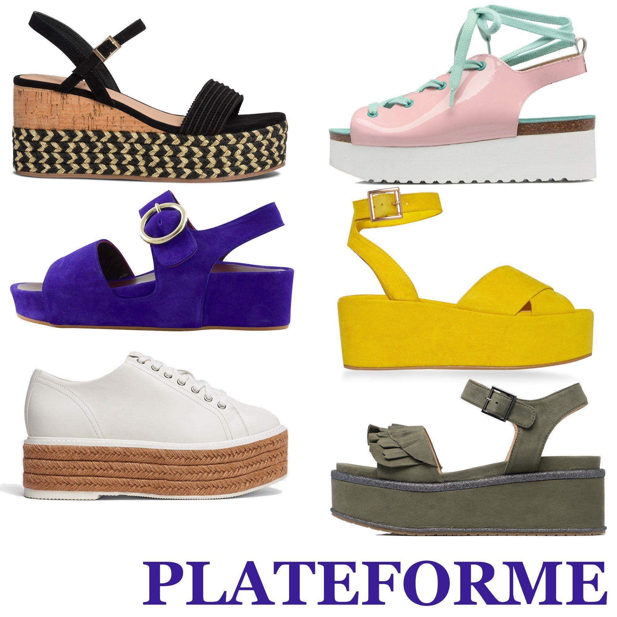 Les Plateformes Tendance Chaussures Printemps été 2018 Chaussure Printemps Sandale Plateforme Chaussure