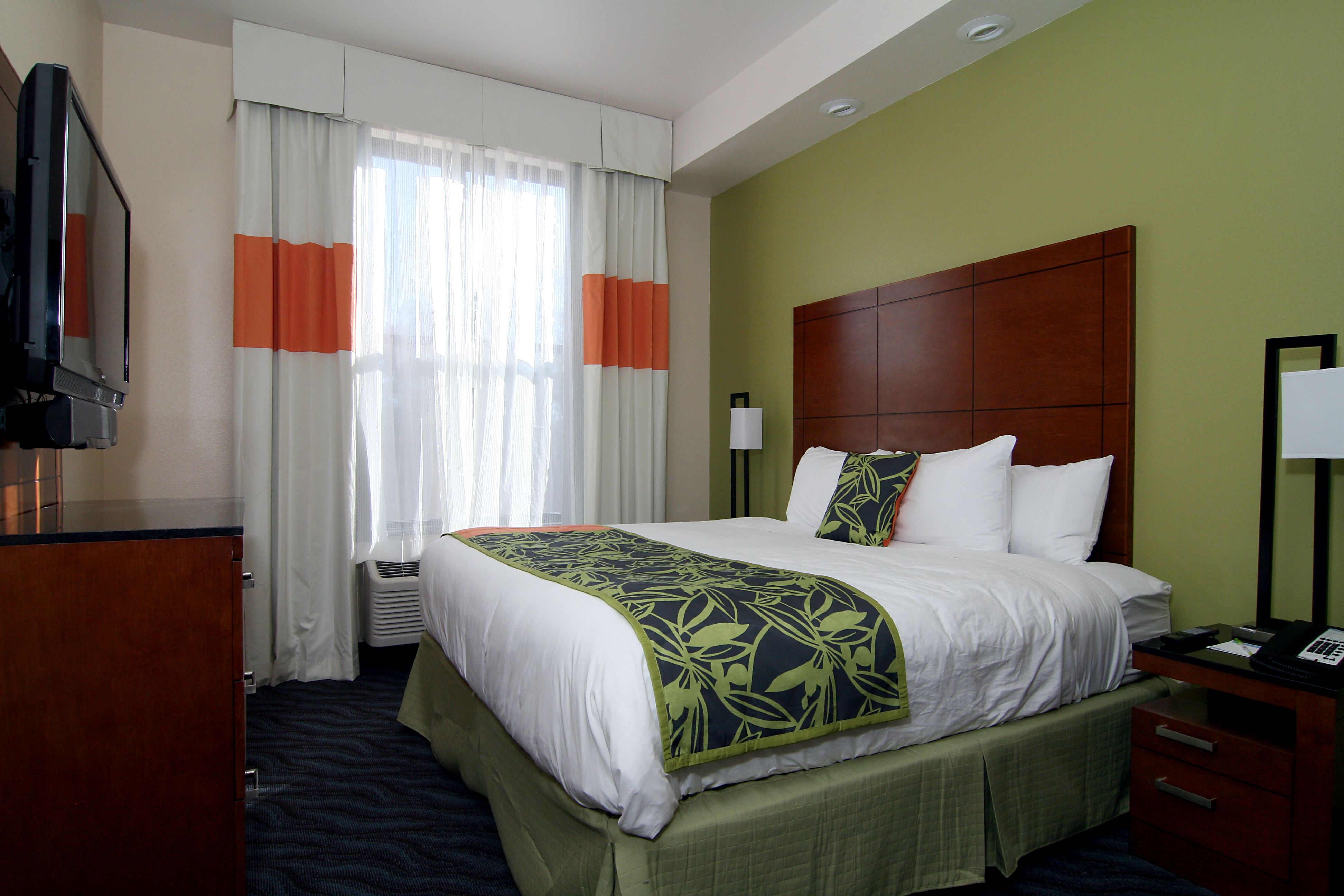 Hospitality Designs offers a full range of custom-made drapery options for your hotel guestroom and public area window treatments, including valance and cornice treatment, side panels, blackout liners, sheers, and timber blinds. #drapery #drapes #windowcoverings #windows #interiordesign