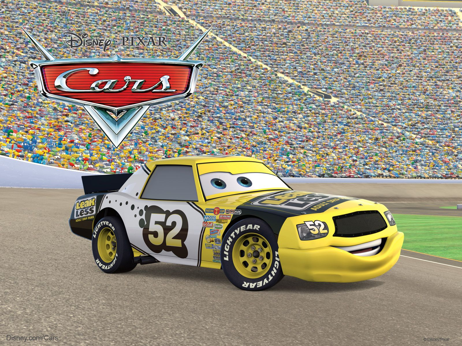 All Cars Characters Leakless The Race Car From Disney Pixar Move